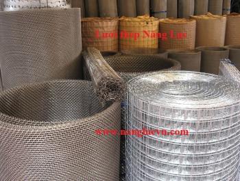Lưới inox đan